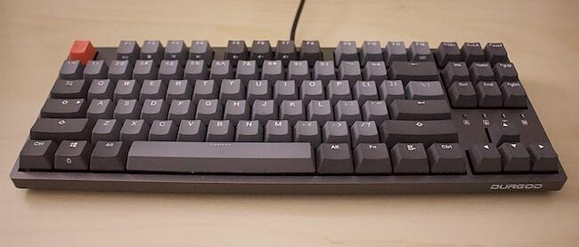 My lovely keyboard — [Durgod Taurus K320](https://www.amazon.de/gp/product/B07QK16RDQ/ref=as_li_tl?ie=UTF8&tag=matthiasendle-21&camp=1638&creative=6742&linkCode=as2&creativeASIN=B07QK16RDQ&linkId=fb0a782ecbc713f8266b90b941375a5f) (referral link). They also have a fancy [white-pink](https://www.amazon.de/gp/product/B081LZV2QM?ie=UTF8&tag=matthiasendle-21&camp=1638&linkCode=xm2&creativeASIN=B081LZV2QM) ISO version now.