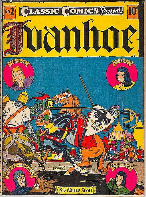 Cover of a Classic Comics book